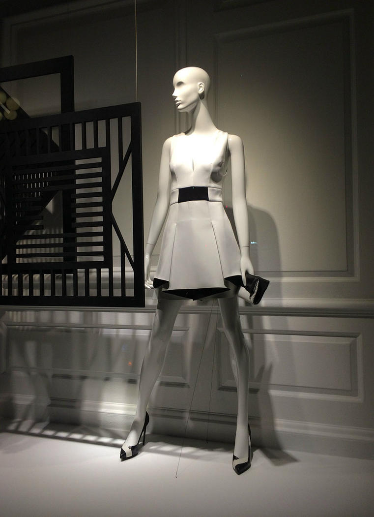 Saks: Black and White 4 by viridian5