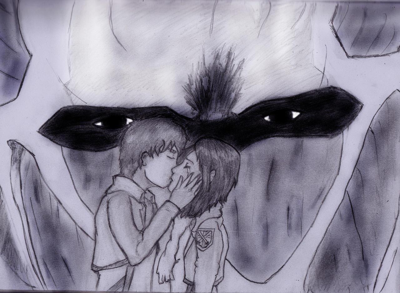 When i die , i die with you ( ErenxMikasa ) by FireToRain