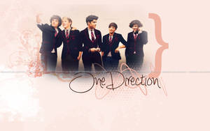 One Direction wallpaper! by iDreamOutLoud