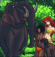 Colonel Hathi And Jr Hathi Appear by jazz316