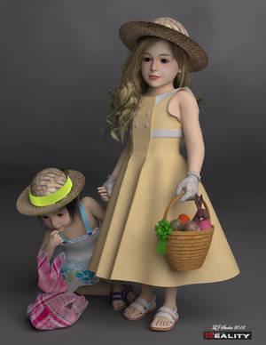 Emma and Jane - Easter Sunday