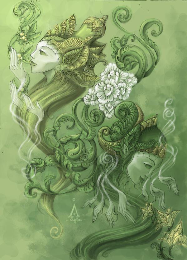 Spiritual Herbalists by tentaculus