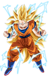 Son Goku Super Saiyajin 3 - Dragon Ball