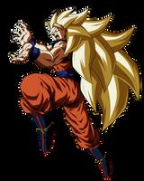Goku Supa Saiyajin Suri by UrielALV