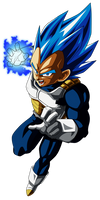 Vegeta Blue by UrielALV