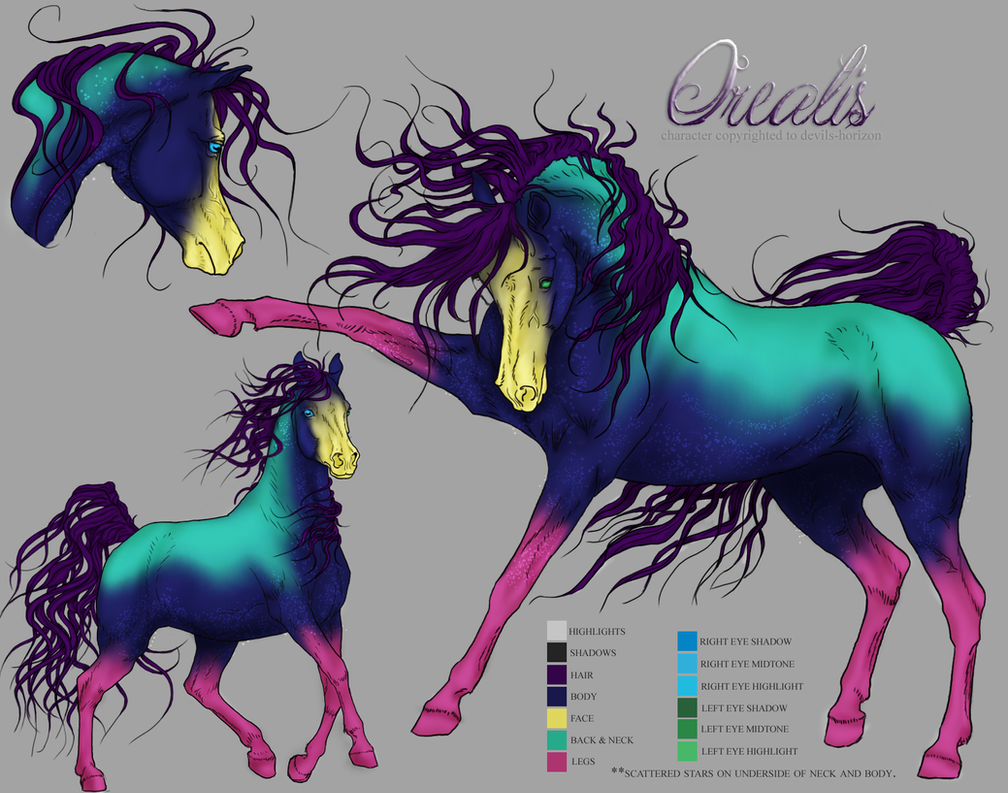 Orealis -- CharacterRef [old design] by devils-horizon