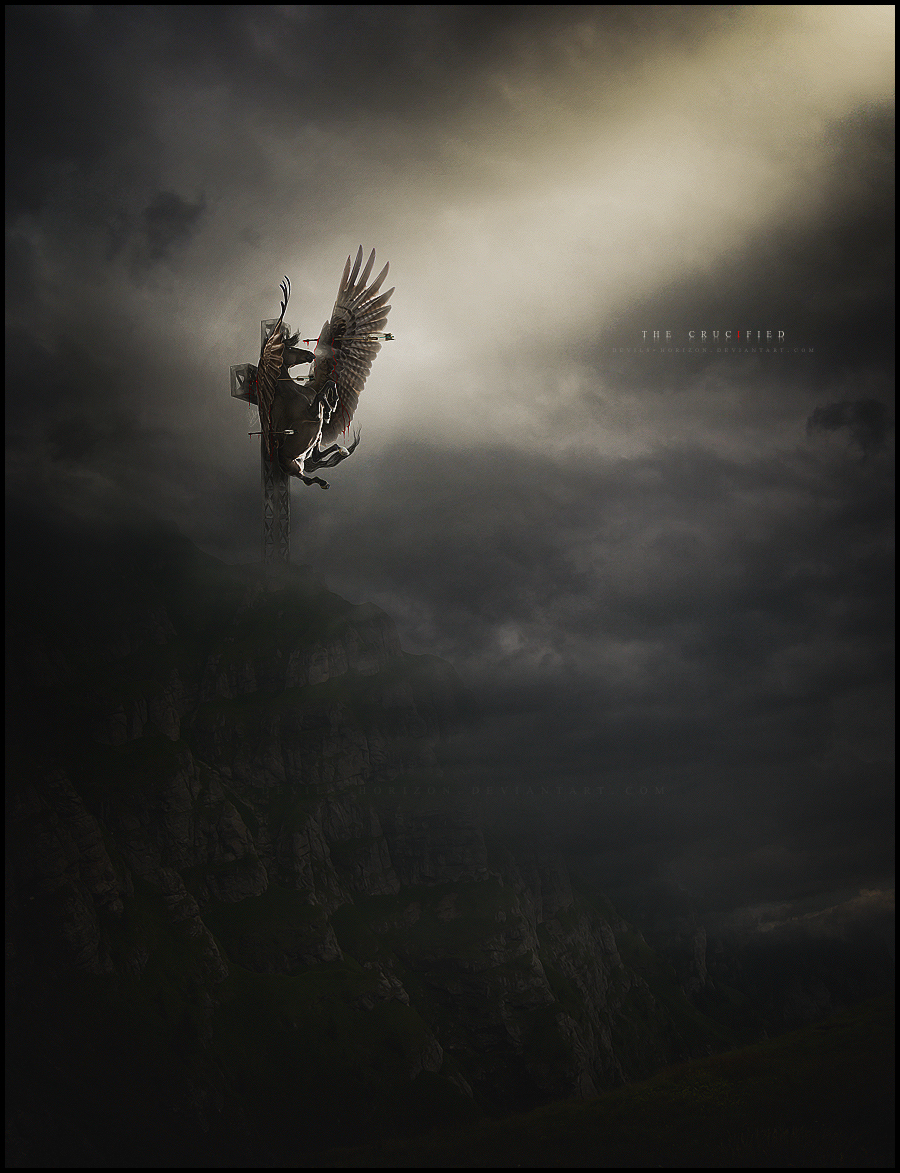 the crucified.. by devils-horizon