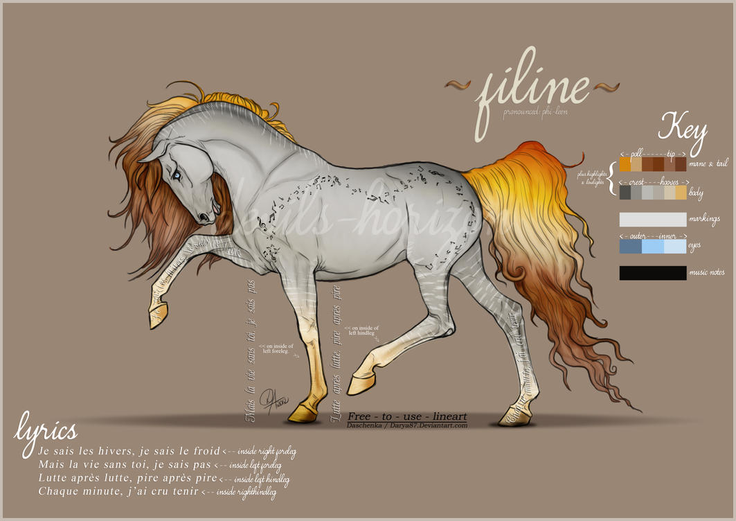 Filine -- Character Ref by devils-horizon