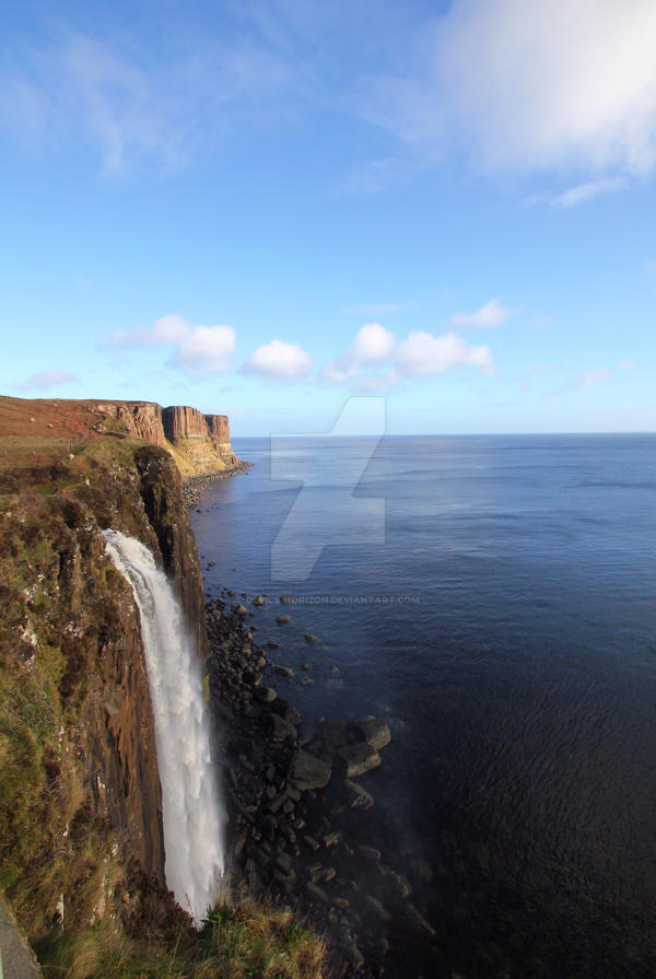 Mealt Waterfall + Kilt Rock - Sneak Peek Stock by devils-horizon