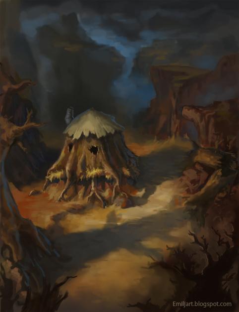 Warcraft 2 Orc Farm Fan Art By Emiljart On Deviantart