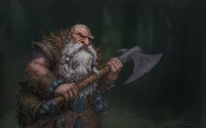 Dwarf Explorer by Emiljart