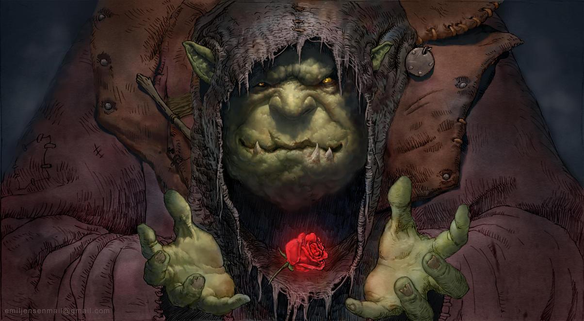 Rosy the Witch by Emiljart