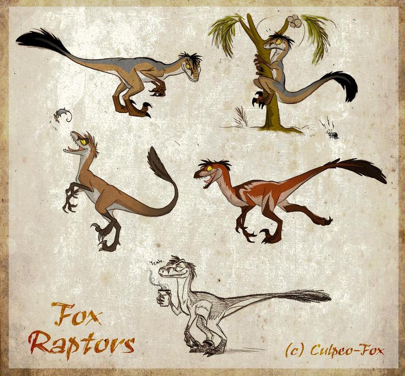 Moar Fox Raptors By Culpeo Fox On Deviantart