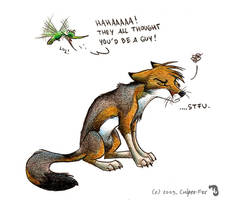 Not a guy by Culpeo-Fox