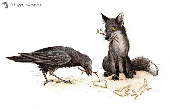 Kindred Spirits by Culpeo-Fox