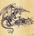 the Dragon who annoyed the Fox