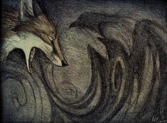 Calling the Corvids by Culpeo-Fox