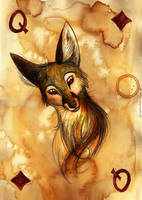 Queen of Diamonds by Culpeo-Fox