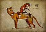 Thylacine Stripes