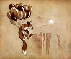 His biggest adventure by Culpeo-Fox