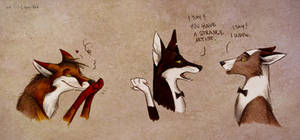 Strange artist, i say by Culpeo-Fox