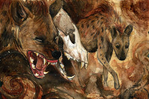 Hyena by Culpeo-Fox