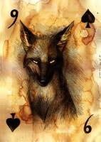 Nine of Spades by Culpeo-Fox