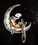 Chillin on da Moon