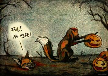 Wrong head by Culpeo-Fox
