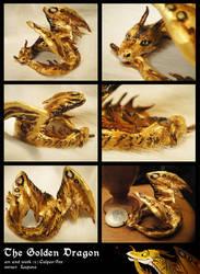 The golden dragon by Culpeo-Fox