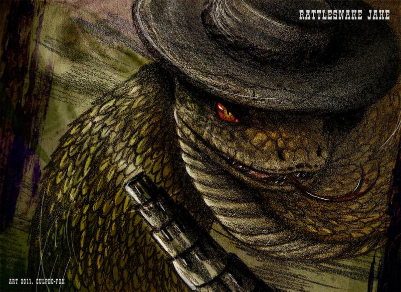 Rattlesnake Jake by Culpeo-Fox