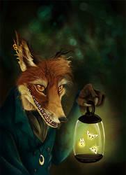 Lost your way? by Culpeo-Fox