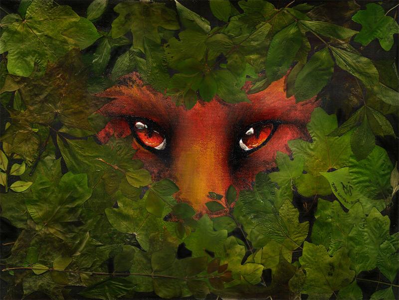 Ruby behind Emerald by Culpeo-Fox