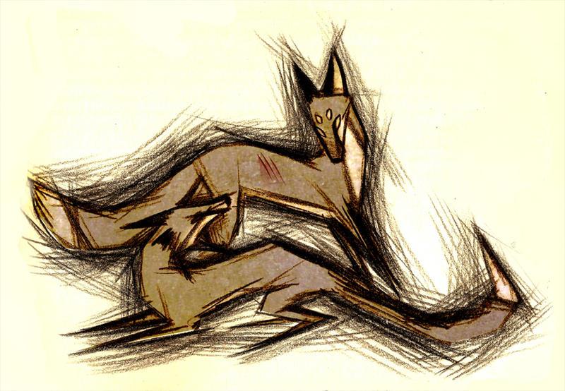 Aggression by Culpeo-Fox
