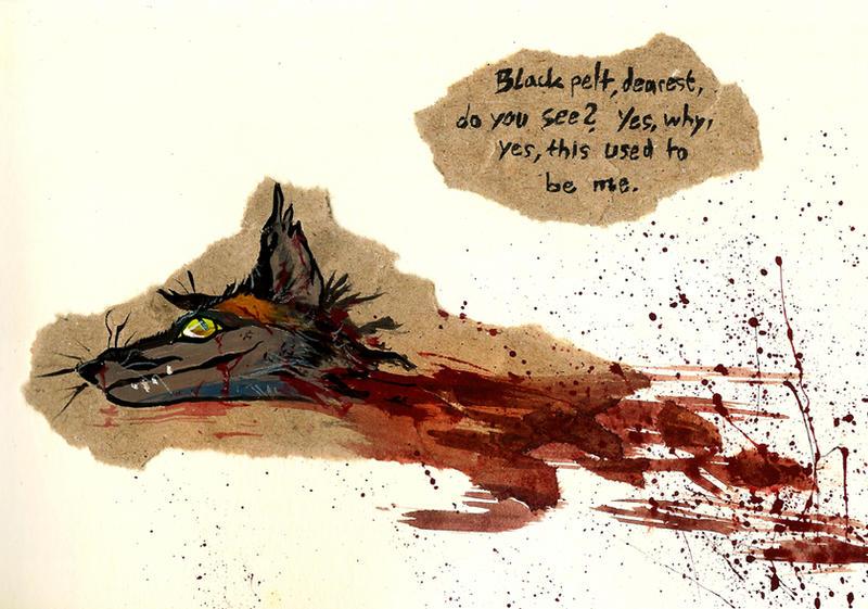 Blackpelt, dearest by Culpeo-Fox