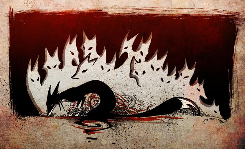 Flammen by Culpeo-Fox