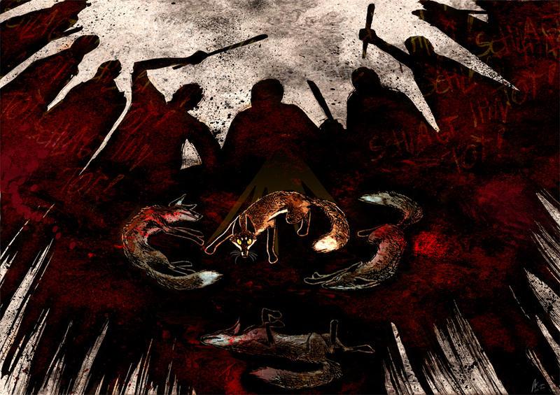 Strike it dead by Culpeo-Fox