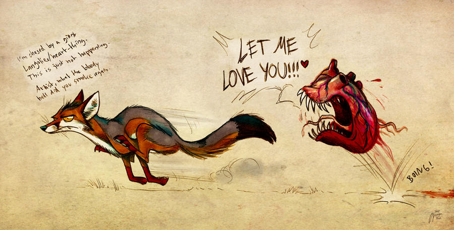 Hungry Heart by Culpeo-Fox