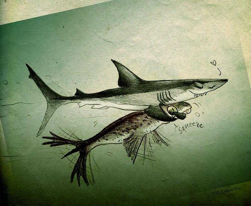 As tender as a...shark by Culpeo-Fox