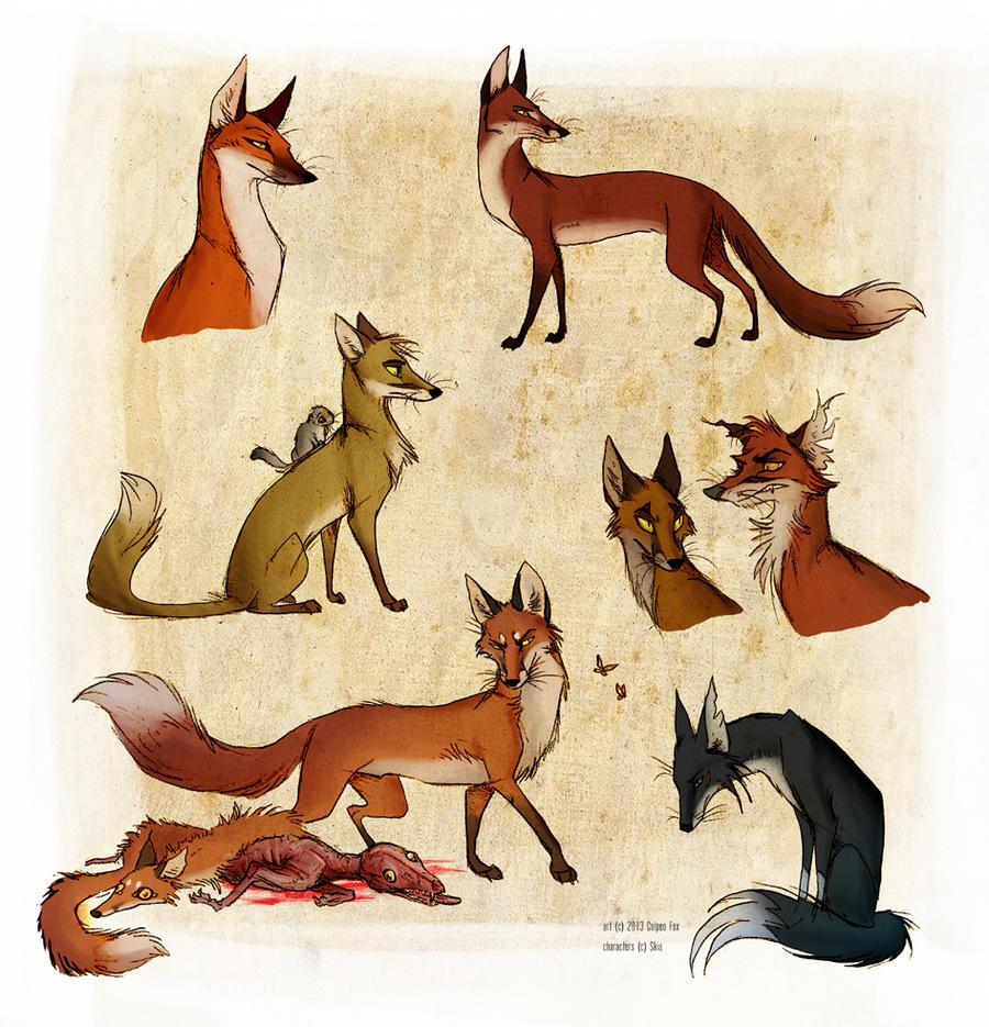 Spuren by Culpeo-Fox