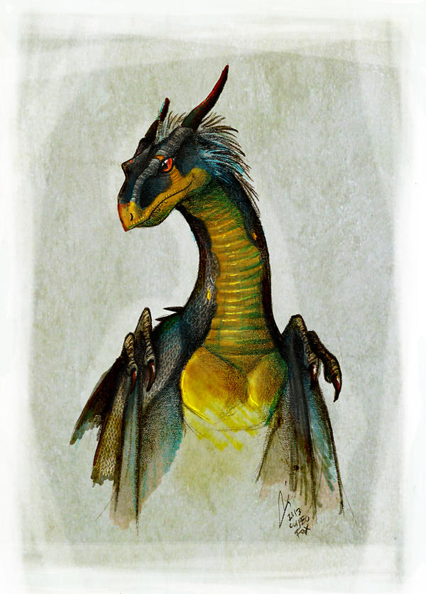 Wyvern by Culpeo-Fox