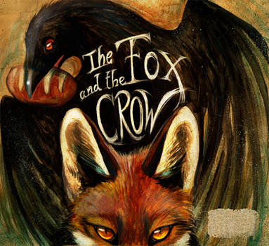 Children's Book The Fox And The Crow by Culpeo-Fox