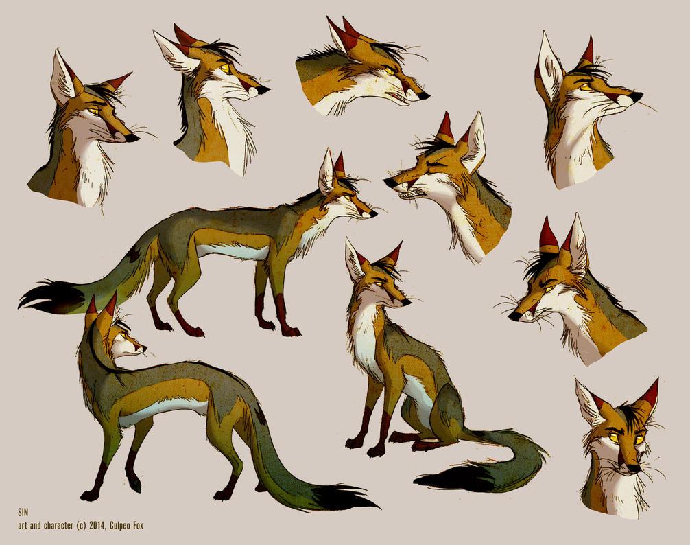 Sketch arta multitude of sins by culpeo fox