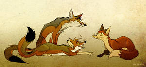 Crooked Snouts by Culpeo-Fox