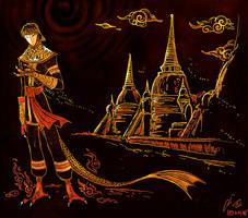 Ayutthaya by Culpeo-Fox