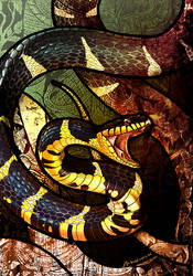 Mangrove Snake by Culpeo-Fox