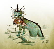 Vaporeon by Culpeo-Fox