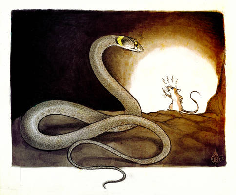 He Who Speaks With The Snake