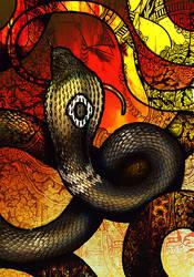 Monocled Cobra by Culpeo-Fox
