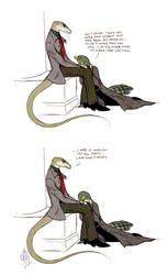 More Than A Snake, Less Than A Bird by Culpeo-Fox